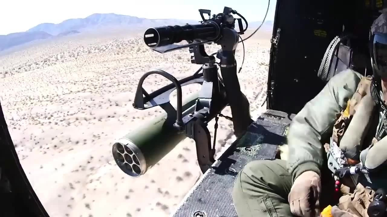 & Helicopter Door Gunners Hunt \u0026 Shoot - Coub - GIFs with sound