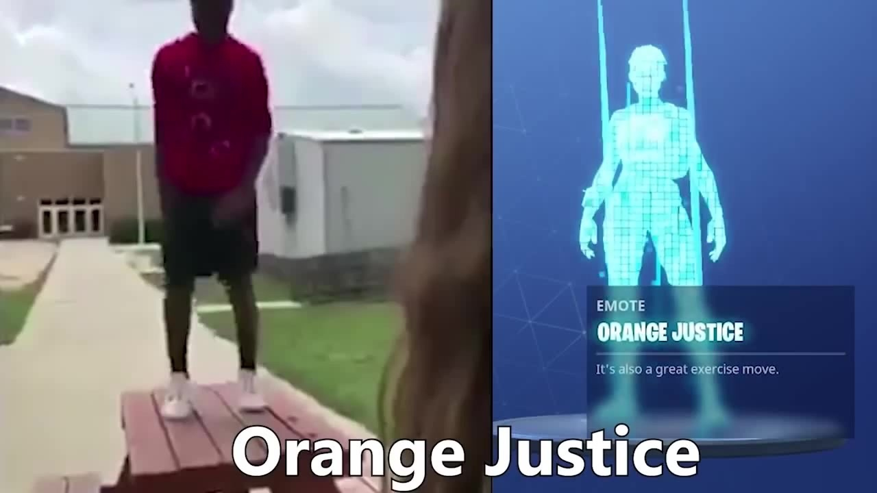 Fortnite Dance Orange Justice Coub Gifs With Sound
